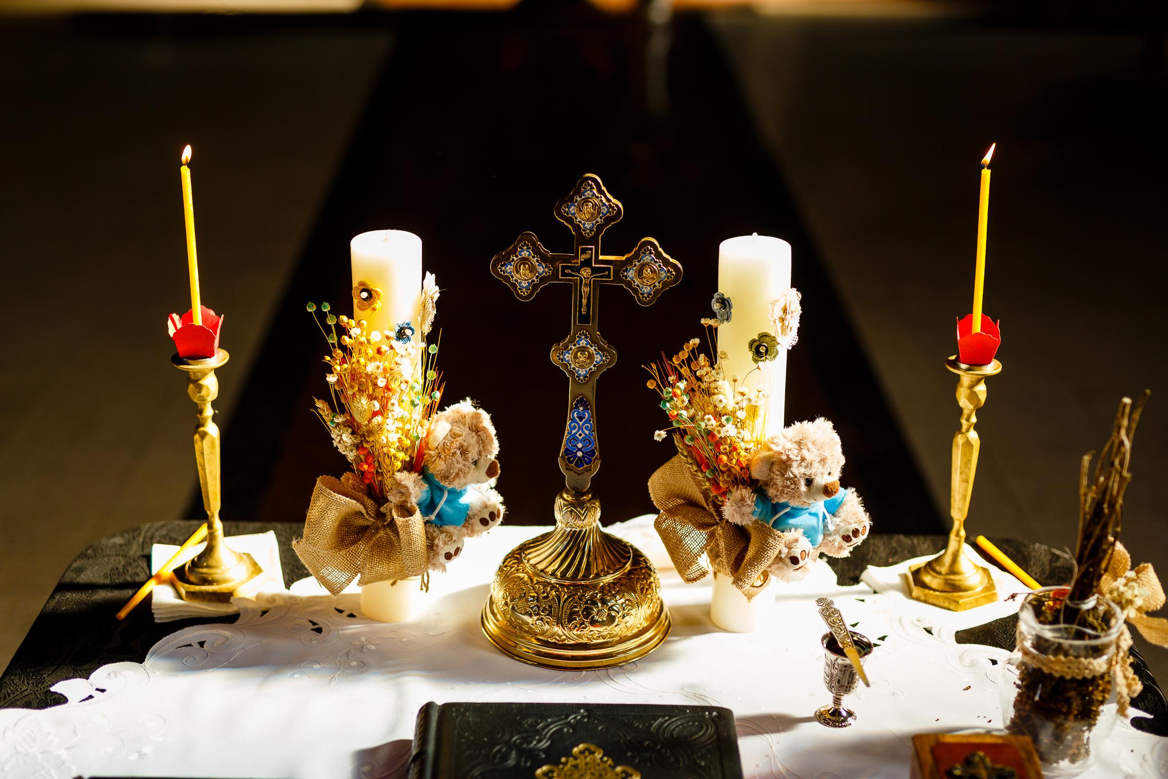 fotografie botez ortodox