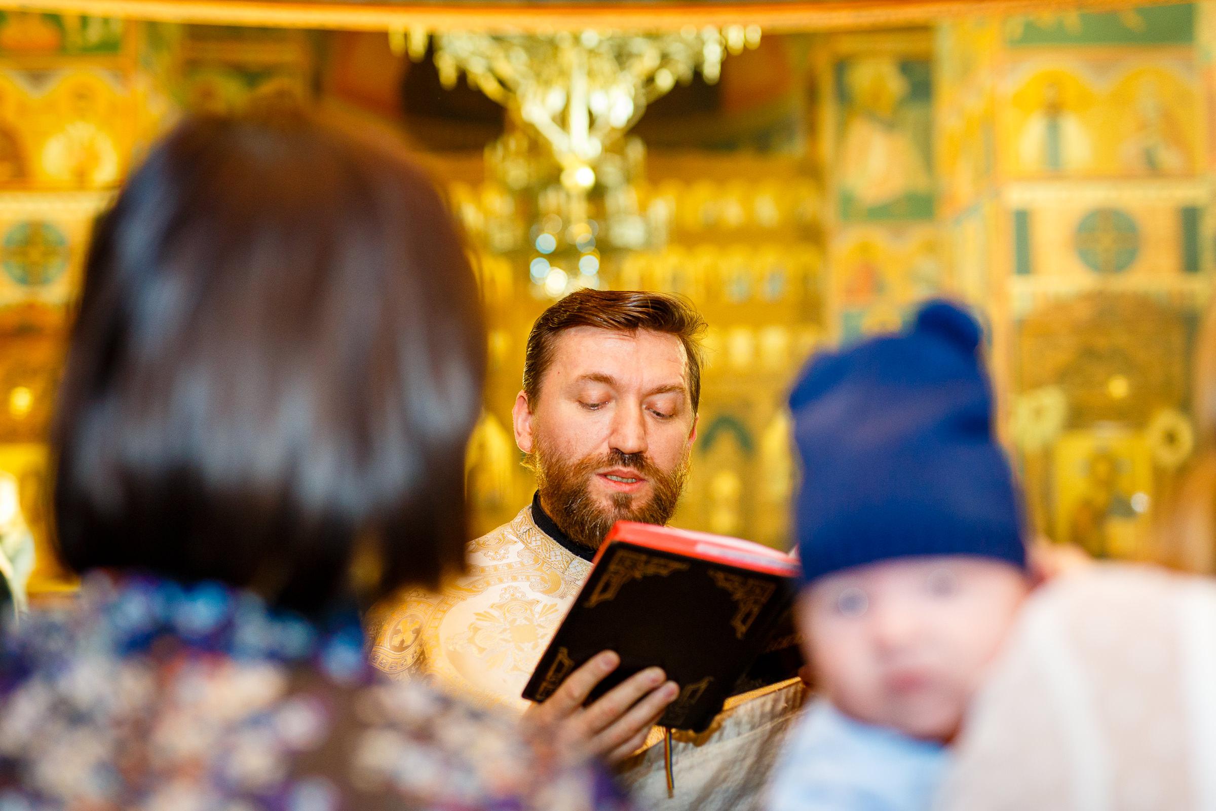fotografii biserica botez profesionale
