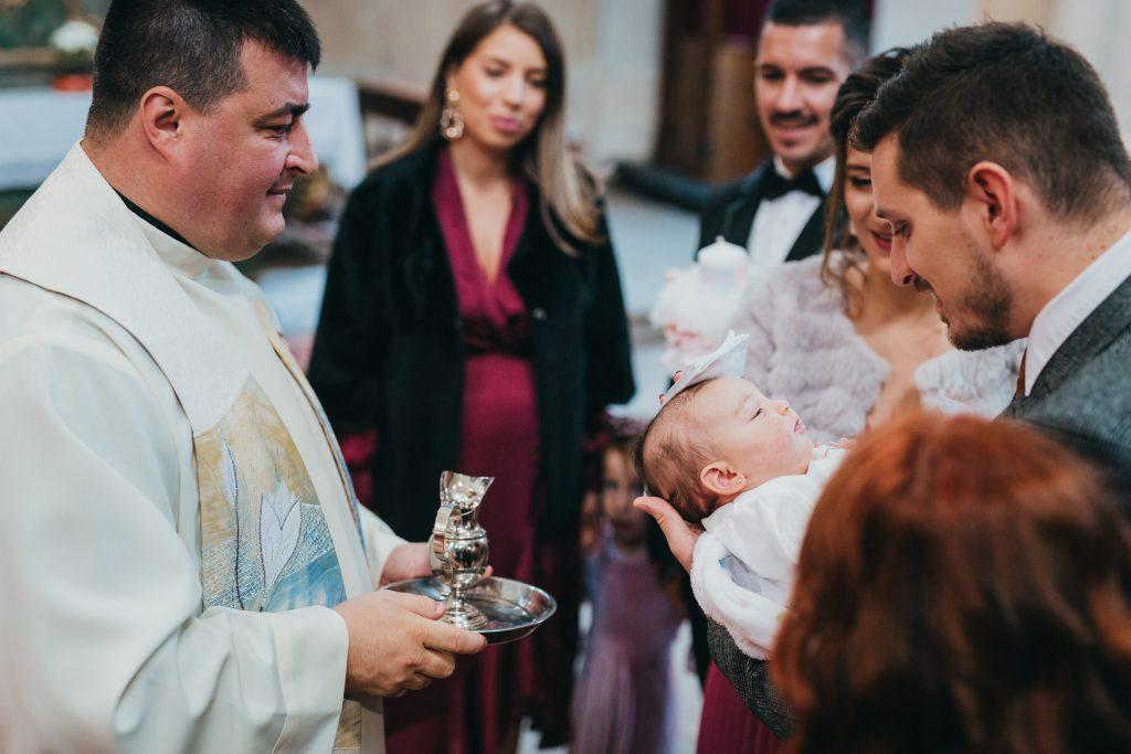 Fotograf botez catolic Cluj